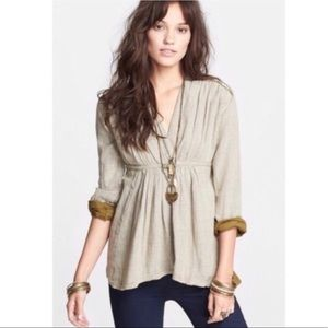 Free People All Who Wander Empire Waist Tunic